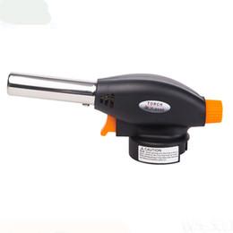 DL-511H Micro Torch Mini Accendisigari Autosaldante Bruciatore a Gas Piezo antivento Chef Torcia per soffiaggio Jet FlameTorch Cucina Cottura Saldatura da gas di cottura a gas di combustione fornitori