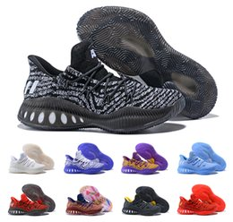 Wholesale Black Independence Day - New 2018 Crazy Explosive Low 2017 Basketball Shoes,Men High Quality White Red Black Andrew Wiggins Independence Day Training Sneakers 40-46