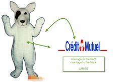 Wholesale Mascot Dog - Custom dog mascot costume Adult Size add LOGO free shipping