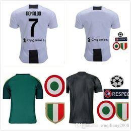 9b8d9b04b Top Thai 2019 new RONALDO JUVENTUS Soccer Jersey 18 19 JUVE 2018 2019 DYBALA  HIGUAIN Football Shirt CRISTIANO MANDZUKIC Uniform Team