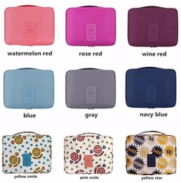 Wholesale Army Bra - Women Wash Cosmetic Bag Beautician Vanity Organizer Bra Underwear Travel Necessities Toiletry Makeup Case Organizer Accessories