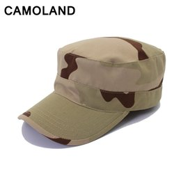 9a9faac7b79 Flat cap Beach Camouflage sniper Mens outdoor hats Sun Hat Boonies UPF 50+  Fishing Hat for man Tactical Cap Army Hunting