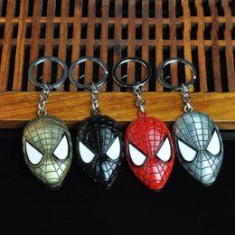 Superheld schlüsselanhänger online-Party-Geschenk des Film-10pcs / lot die Maske Keychains Legierungs-Superheld Ringchains für Halloween-Dekorationen