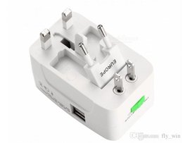 2019 filtro elétrico Universal Internacional Plug Adapter 2 Porta USB World Travel AC Power Charger Adaptador EUA / REINO UNIDO / AU / UE Plug Viagem AC Power Adapter Converter