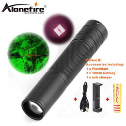 Wholesale ir led night vision - AloneFire 850nm Zoom Infrared Radiation IR LED Night Vision Flashlight Camping Light Hunting Lamp Flashlight IR01