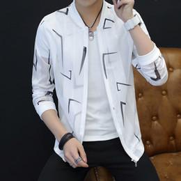 99efc059ebe korean long summer jackets Canada - Summer Sun Protection Clothing Korean  2018 Brand New Slim Fit