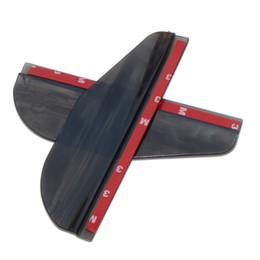 Mitsubishi asx zubehör online-2 teile / los auto rückspiegel aufkleber regen augenbraue für mitsubishi asx lancer 9 10 outlander pajero l200 zubehör