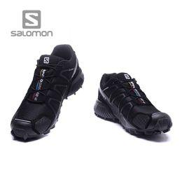 Свободные крылья онлайн-Solomon Свободный бег Solomon Speed Cross 4 CS SENSE WINGS кроссовки Брендовые кроссовки Спортивная спортивная обувь Solomons Fencing Shoes Тренеры PK