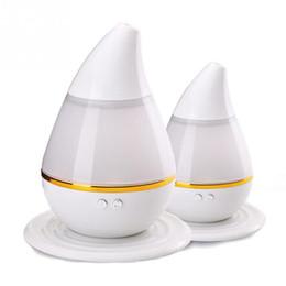 Óleo de máquina leve on-line-Ultrasonic óleo essencial máquina de aromaterapia purificador de ar umidificador pele hidratante cor colorida luz LED queimadores de incenso