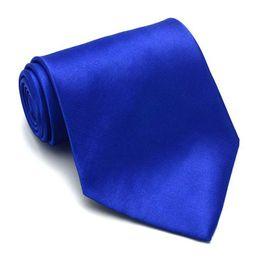 Wholesale tuxedo suits colors - 10CM Mens Ties Women Plain Neckties Party Wedding Tuxedo Suit Shiny Tie Bridegroom Necktie 26 Colors