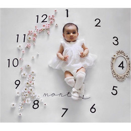 photo printing free prints Coupons - newborn baby photography background props baby photo fabric backdrops infant blankets wrap letter flower numbers print cloth DHL Free