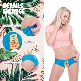 507d5d172 unique underwear Canada - Women sexy cotton panties low waist 3D printing 5  unique Designs breathable