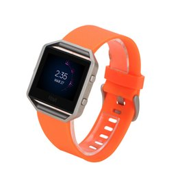 Wholesale Cheapest Smart Watches - Best Quality Soft Silicone Strap for Fitbit Blaze Tracker Smart Watch Band Buckle Bracelet DHgate Cheapest