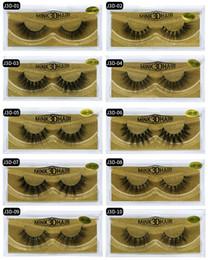 false eyelashes transparent Canada - 2018 New Arrivals Makeup Mink Hair False Eyelashes Natural Thick Long Soft False Eye Lashes High Quality 3D Mink Eyelashes DHL Free Shipping