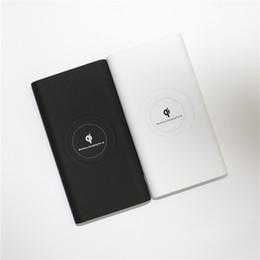 10000 мАч беспроводной зарядки Power bank Оптовая резервная батарея powerbank для iphone X для Ipad и всех телефонов от