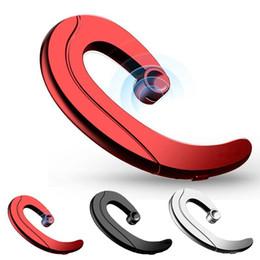 Ohrhörer ohrhörer online-Neue Bone Conduction No Pains Kopfhörer Mini Bluetooth Kopfhörer EarHook Kein Earplug Headset Wireless Kopfhörer für iPhone Samsung LG