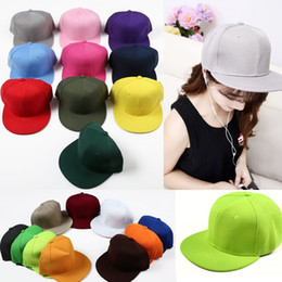 3a74e3ef top hat blanks Coupons - 2018 new fashion blank baseball caps snapback hats  for men women