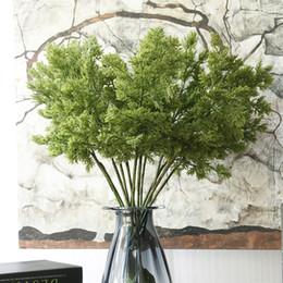 5pcs rami di albero di pino di Natale piante di cipresso pinaster artificiale per autunno autunno decorazione di halloween foglie di fiore verde da
