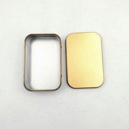 Wholesale Empty Metal Case - Mini Tin Box Small Empty Metal Storage Box Case Organizer For Money Coin Candy Keys U Disk Headphones