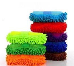 2019 escovas de onda grossista Chegam novas Hot Auto Esponja de Lavagem Do Carro Microfibra Chenille Cleaner Acessórios Limpo