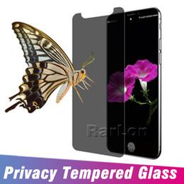 protector de pantalla antirreflejos de manzana Rebajas Para Iphone XS MAX XR X 10 Pantalla protectora de privacidad Protector antirreflejo Vidrio templado real Para Iphone 8 7 6S Plus sin paquete