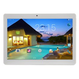 Wholesale 1gb Ram Tablets - 10.1 Inch 3G Phone Call Tablet Android 5.1 1280X800 IPS MTK6582 Quad Core 1G RAM 16GB ROM Phablet