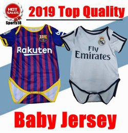 c24028944d2 Baby Jersey For 6 To 18 Month Baby 2018 Real Madrid Barcelona MODRIC  ASENSIO Messi INIESTA PIQUE Kid Jersey 2018 Baby Shirts