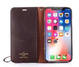 2019 handy lanyard iphone Handytasche Ledertasche für iPhone X 7 7plus 8 8plus mit Kartenschlitz Lanyard Schutzhülle für 6 6S 6plus günstig handy lanyard iphone