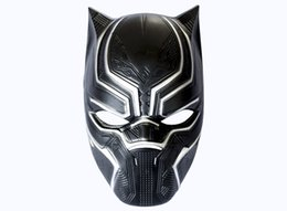 Wholesale Horror Guy - Marvel Hero Black Panther Masks For Vendetta Mask Anonymous Guy Fawkes Fancy Dress Adult Costume Accessory Party Cosplay Masks