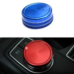 Auto Red Center Control Multimedia Taste Dekorative Abdeckung Für Mercedes Benz CLA GLA GLK A B E klasse Innenformen von Fabrikanten