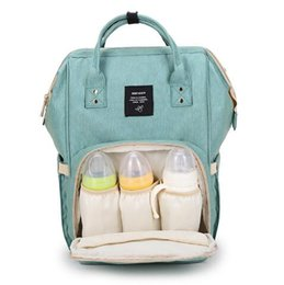 Wholesale Top Fashion Backpack Brands - AOFIDER Brand Diaper Bag Waterproof Travel Backpack Fashion Mummy Nappy Nursing Bags Baby Care Multi-Function Large Capacity Bag Top Quality
