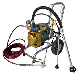 Wholesale pressure paint sprayer - High-pressure Airless Spraying Machine Construction Wall Paint Gun Sprayer 220V