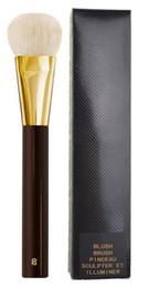 polvos cosméticos kylie Rebajas TF-Series Cheek Blush Bronzer Brocha de maquillaje Crema ahumada Base de maquillaje Sombra de ojos Contorno Esculpir Pinceau # 2 # 11 # 1 # 3 # 5 Pelo de cabra Dropship