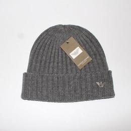 2018 Nueva Buena Calidad Marcas de moda Otoño Invierno Unisex sombrero de lana moda casual Carta sombreros Para Hombres mujeres cap clásico A-20-111 desde fabricantes
