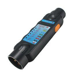 Remorques à câble en Ligne-Outil de Diagnostic 7 Broches Véhicule Voiture Remorque Remorque Remorque De Voiture Léger Câble Câblage Circuit Plug Socket Testeur Voiture Testeur Adaptateur