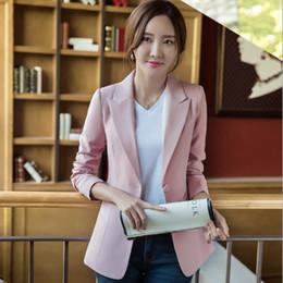 пр стиль весна осень мода blazer женщины офисная одежда пиджаки и куртки женщина тонкий пиджак черный белый розовый зеленый 3xl от Поставщики жакеты стиля ol