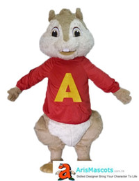 Wholesale Mascot Funny - alvin and the chipmunks mascot costume for birthday party cartoon mascot costumes for sale creat your own funny mascots