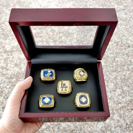 Wholesale league championship ring - The Newest Los Angeles Dodger s 1955 1978 1981 1988 2017 National League Championship Rings Fan Gift high quality wholesale