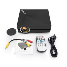 Wifi av tv on-line-GM60A Mini WiFi Projetor 1000 Lumens LEVOU Beamer Sem Fio Display HD 1080 P Home Theater Para Jogos de Vídeo TV Suporte HDMI VGA AV USB
