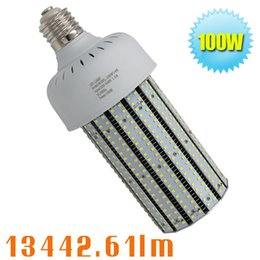 Wholesale Cob Led Watt - 347volt 480 Volt 100W LED Corn Cob E39 Base Retrofit 320 Watt Metal Halide Warehouse Lighting,5000K Crystal White Parking Lot Garage Fixture