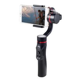 mini transmisor de cámara Rebajas Gimbal de estabilizador de mano de 3 ejes para cámaras de acciones de teléfonos