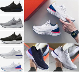 Wholesale comfortable running shoes for men - 2018 New Epic React Womens Mens Running Shoes Instant Go Fly Breath Comfortable Sport Boost Size 5-11 For Sale Men Women Athletic Sneakers