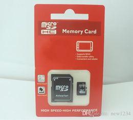 Wholesale Camera Sdhc Card - New Packaging Camera Memory Card 64GB 32GB 128GB Micro SD SDHC Class 10