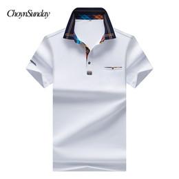 2019 nuevos éxitos 2018 New Men's Shirt Color Hit Fashion Collar de malla Casual Pure Color Shirt Brand Ropa de Hombre nuevos éxitos baratos