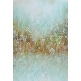 Foto di fiori astratti online-S-3022 Abstract Vintage Little Spring Flower Romantico Bambino neonato foto sfondo fotografico fondali