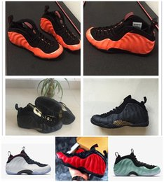 New Penny Hardaway Schiuma Mens Casual Scarpe Nero Oro Arancione Army Green Speckle Man Air Melanzana Maroon Foam Shoe da