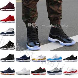 Wholesale Patent Shop - New hot new 11 Velvet Blue Men Women Basketball Shoes 11s Royal Blue Velvet Sports Sneakers High Quality free shopping US 5.5-13 Eur 36-47