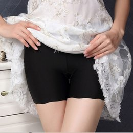 Women High Waist Seamless Safety Short Pants Underwears Boyshorts Lady Panties  Lingerie Intimates Knickers bc577f59e