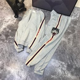Canada 18FW designer de luxe Sideline Gris Survêtement Femmes Hommes Casual Sweatsuit Sport Streetwear Pullovers Ensembles En Plein Air Hoodies cheap tracksuit sport Offre
