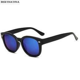 9492b80dc3a Retro Thick Frame Cat Eye Sunglasses Women Men Ladies Fashion Brand  Designer Vintage Sunglasses Mirror Lens Colorful Sun Glasses